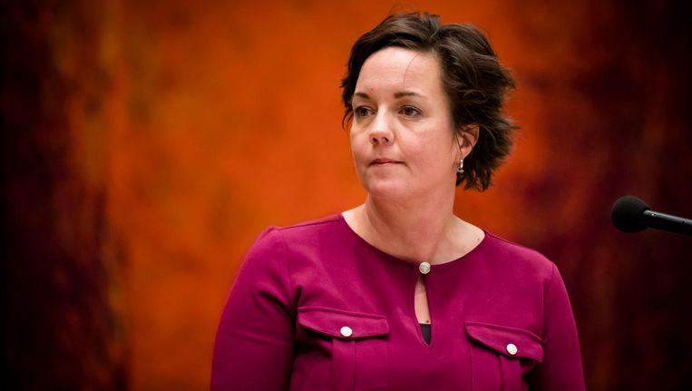 Volgens staatssecretaris Tamara van Ark handelt Amsterdam met het bijstandsexperiment niet conform de wet. Beeld anp