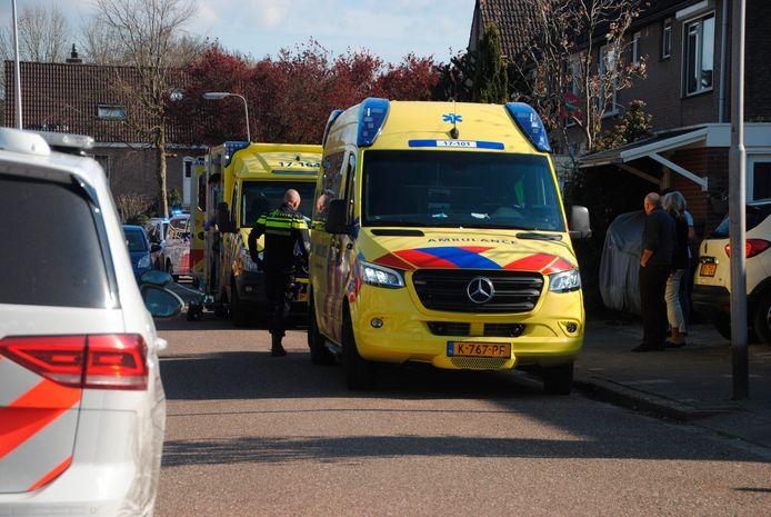 Meerdere hulpdiensten rukten vrijdagmiddag uit voor het noodlottige incident.