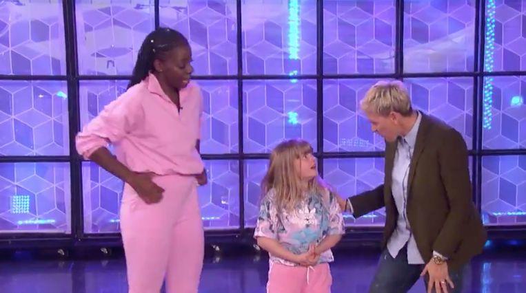 Jeny en Anae bij Ellen.