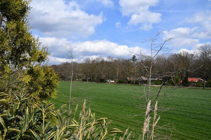 De initiatiefnemers van Zonneweide Kattenberg willen bij de A58 bij landgoed Stille Wille een zonnepark inrichten.