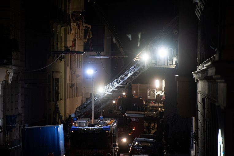 Hulpverleners bleven de hele nacht doorwerken.