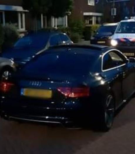 Vier verdachten aangehouden voor poging diefstal Audi RS5