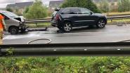 Auto vat vuur tijdens takeling na ongeval