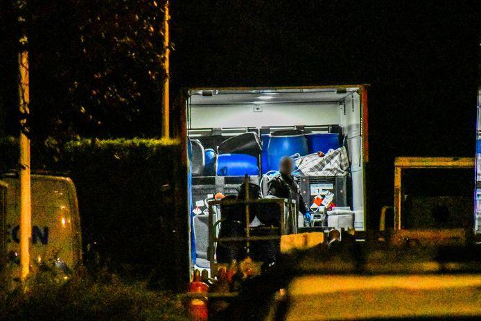 Donderdagnacht is er een drugslab in Boekelo opgerold.