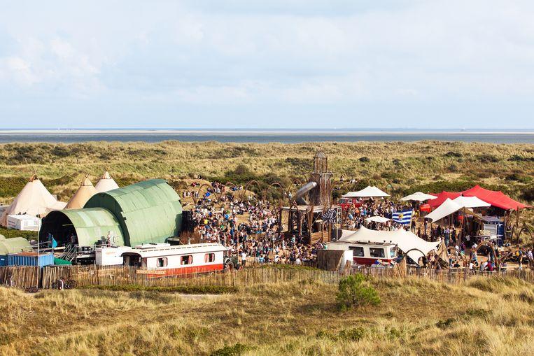 Een festival bij de noorderburen: Into the Great Wide Open. Beeld Juri Hiensch