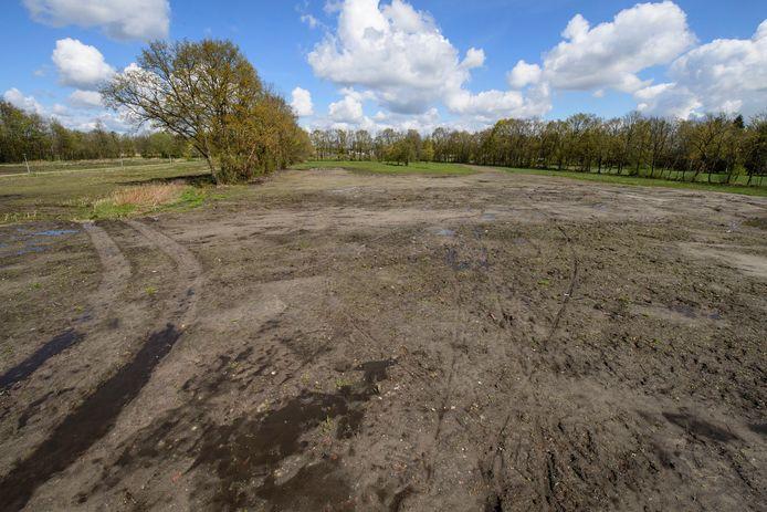 Het is de bedoeling om de woningbouw in Eschmarkerveld tussen Enschede en Glanerbrug in te passen in het bestaande groen.
