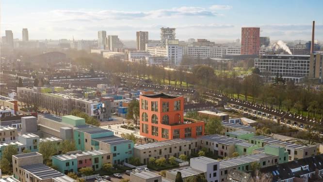 Het nieuwe wijkgebouw van Woensel West in Eindhoven schiet vanaf nu uit de grond