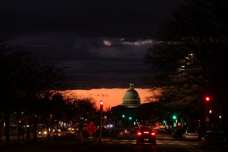 Het Capitool in Washington. Beeld REUTERS