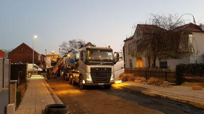Asfalt- en betonwerken Overslag gestart