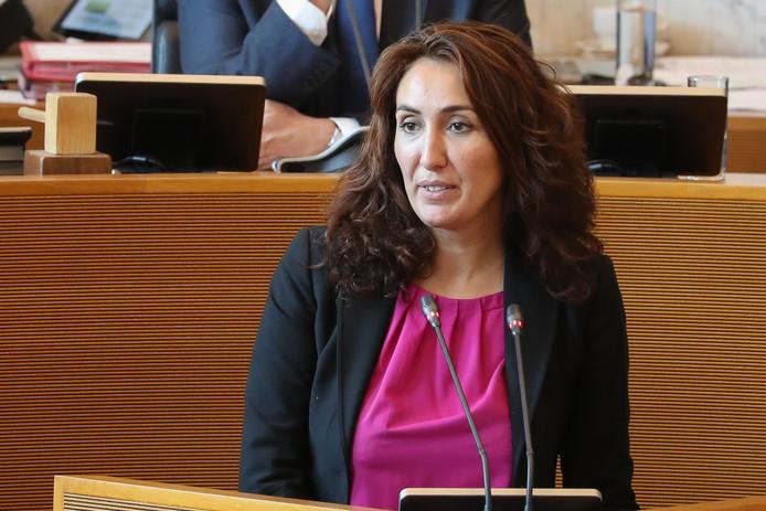 La ministre wallonne en charge de la Santé, Christie Morreale (PS).