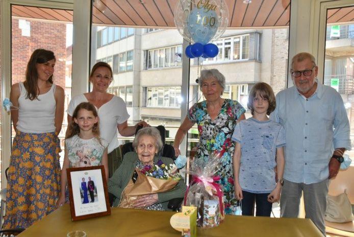 Olga en haar familie
