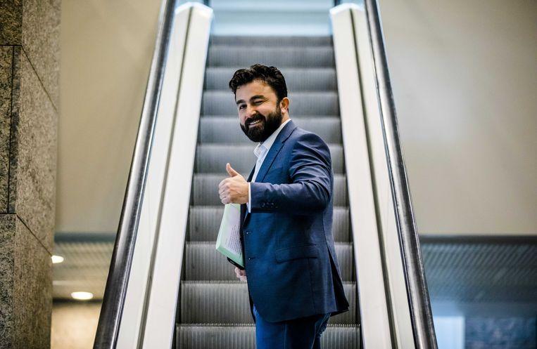 Tweede Kamerlid Selcuk Öztürk van Denk. Beeld ANP