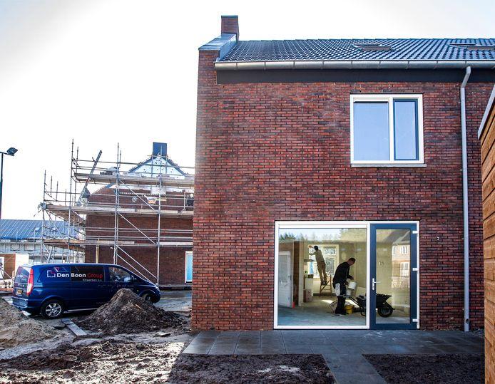 Nieuwbouw in Deventer, zoals hier recent op Steenbrugge.