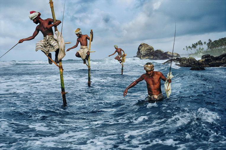 Een foto uit Sri Lanka, door Steve McCurry. Beeld Steve McCurry