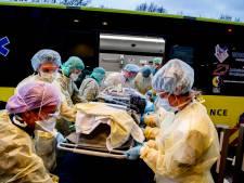Drukte covidpatiënten houdt aan in Amsterdamse ziekenhuizen