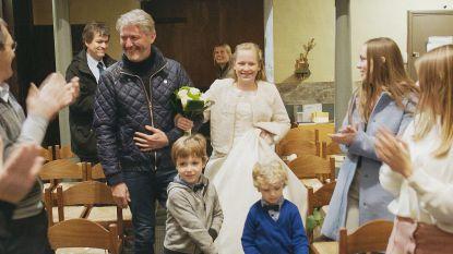 12-jarige dochter Kürt Rogiers stapt in het huwelijksbootje