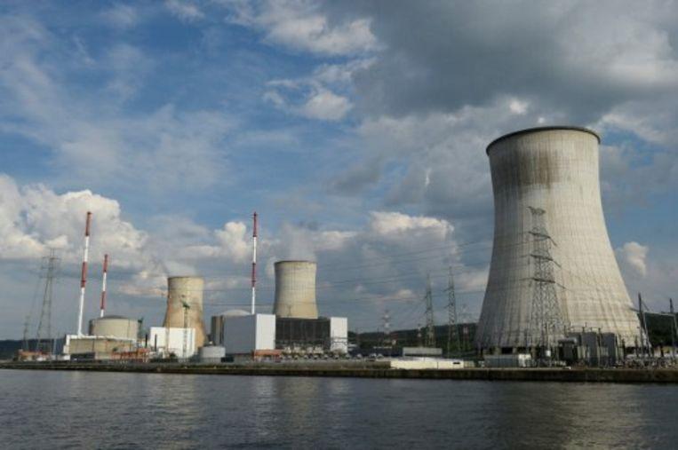 De kerncentrale van Tihange. Beeld AFP