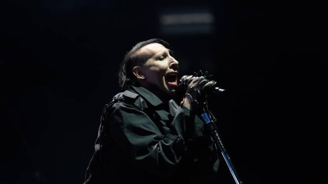 Amerikaanse politie zoekt contact met vermeende slachtoffers Marilyn Manson