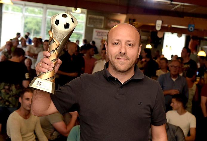 Natalino Storelli was trainer van het jaar bij BN DeStem