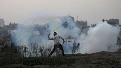 Israëli's bombarderen Gazastrook