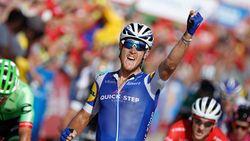 Matteo Trentin wint rit in de drie grote rondes, maar op nummer 100 is het nog wel wachten