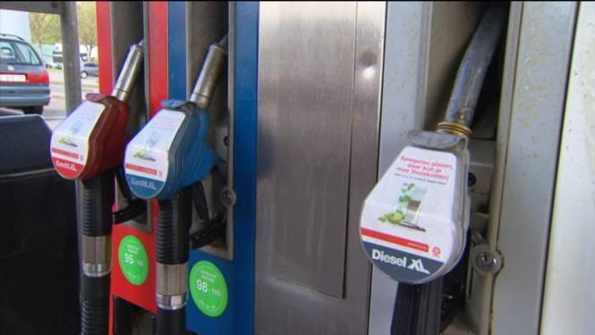 Prijzen brandstoffen in vrije val