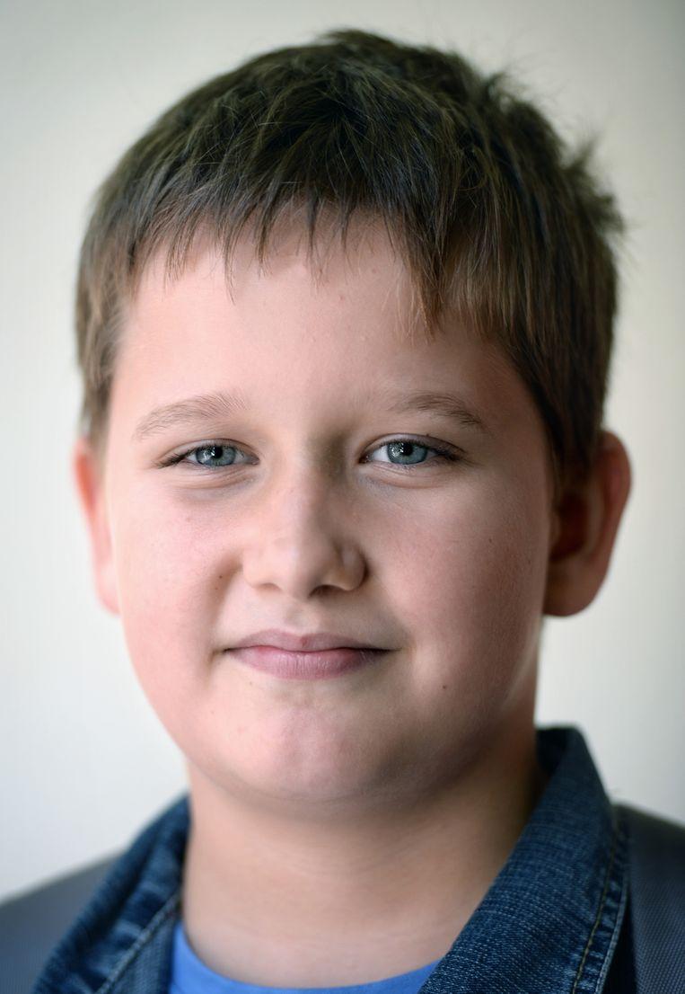 Mateusz Cibor (9) woont sinds 2013 op De Walnoot. Zijn ouders waren er al een jaar; hij woonde toen bij zijn oma, met zijn broertje en zusje. Beeld Marcel van den Bergh