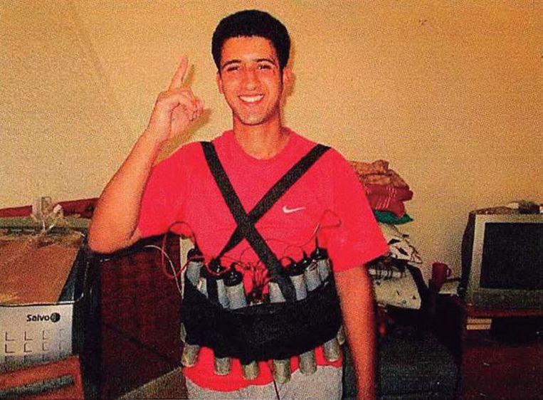 Verdachte Youssef Aalla. Beeld AP