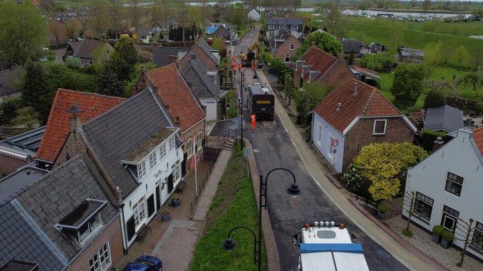Fluisterasfalt voor de bewoners van de Kom Lekdijk in Lexmond.