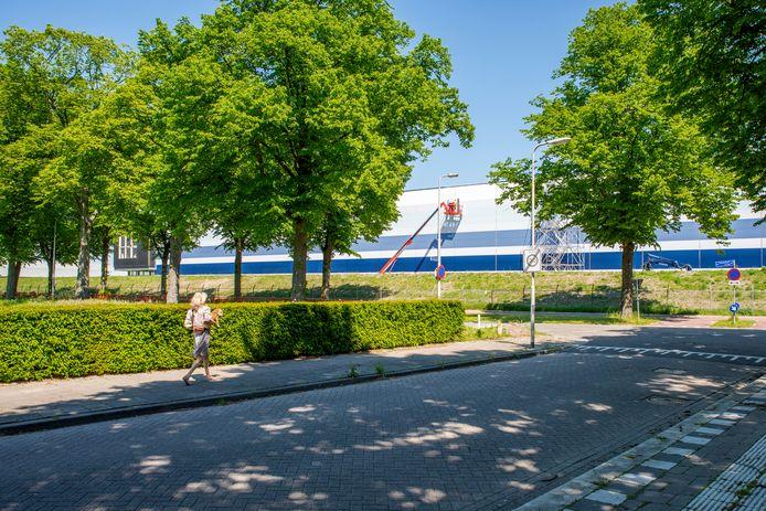Roosendaal, Moreno Molenaar/Pix4Profs  Zicht op nieuwe Campus A58 vanuit Voltastraat Roosendaal