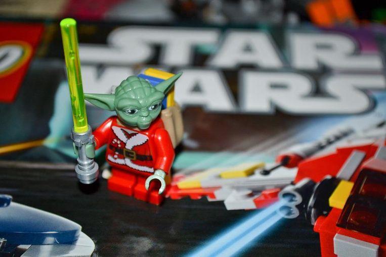 Speelgoed van Star Wars. Beeld