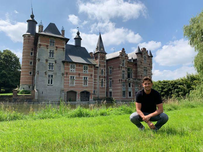 Voodoo Village op domein 's Gravenkasteel in Humbeek, Grimbergen Op de foto: Maxim Dekegel een van de stichters van het festival