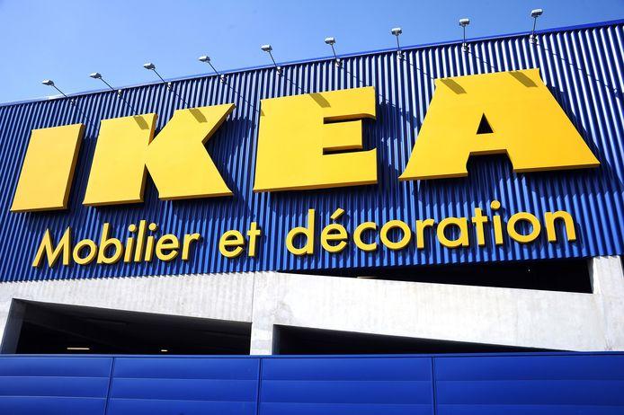 Een Ikeabord in Montpellier in het zuiden van Frankrijk.