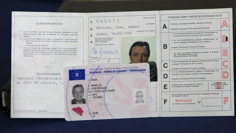 Belgisch rijbewijs.