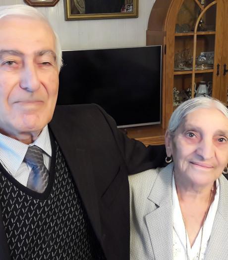 Efrem en Atiye uit Hengelo zijn al 65 jaar 'lief voor elkaar'