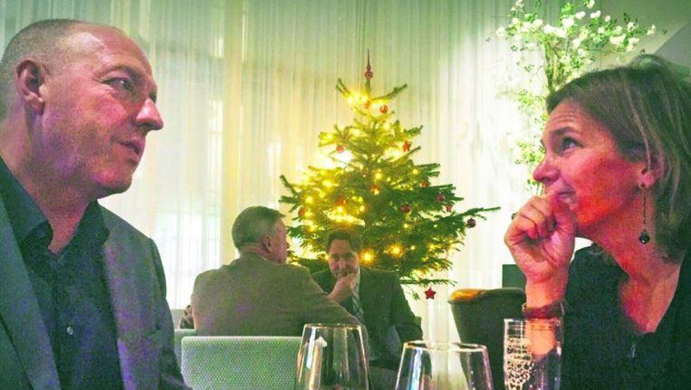 Piekema in gesprek met VVD-Kamerlid Ockje Tellegen Beeld VVD