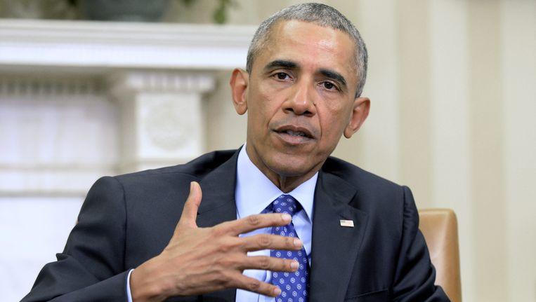 U.S. president Barack Obama. Beeld EPA
