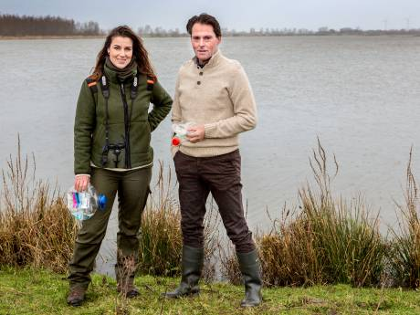 Deze 'stofzuiger' haalt straks kilo's plastic uit het Hollands Diep en Haringvliet