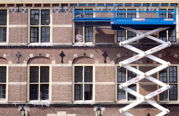 **Het nieuwe Binnenhof moet in 2025 van het gas af**