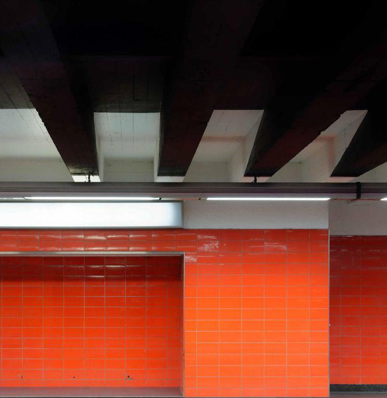 Station Maalbeek. Beeld Mikaël Falke