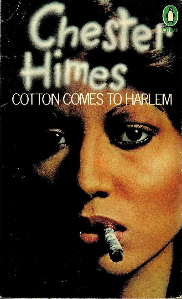 Chester Himes: Cotton Comes to Harlem. Penguin 1974. Omslag Paul May, foto John Claridge.  Beeld Penguin
