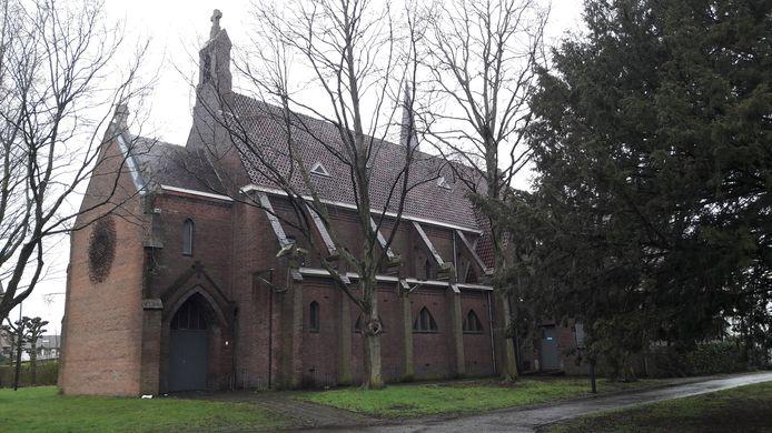 Hij staat te koop, de kapel in het Oderkerkpark in Etten-Leur.