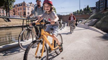 Gents MilieuFront telt steeds meer fietsende kinderen