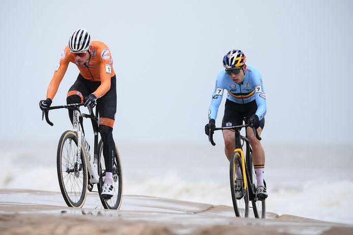 Van der Poel en Van Aert focussen zich voornamelijk op het WK.