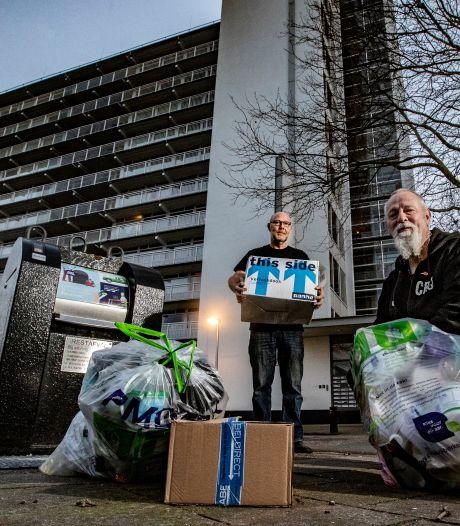 Deventer verscheurt tachtig afvalboetes: extreme weer in ophaalweek zorgde voor problemen