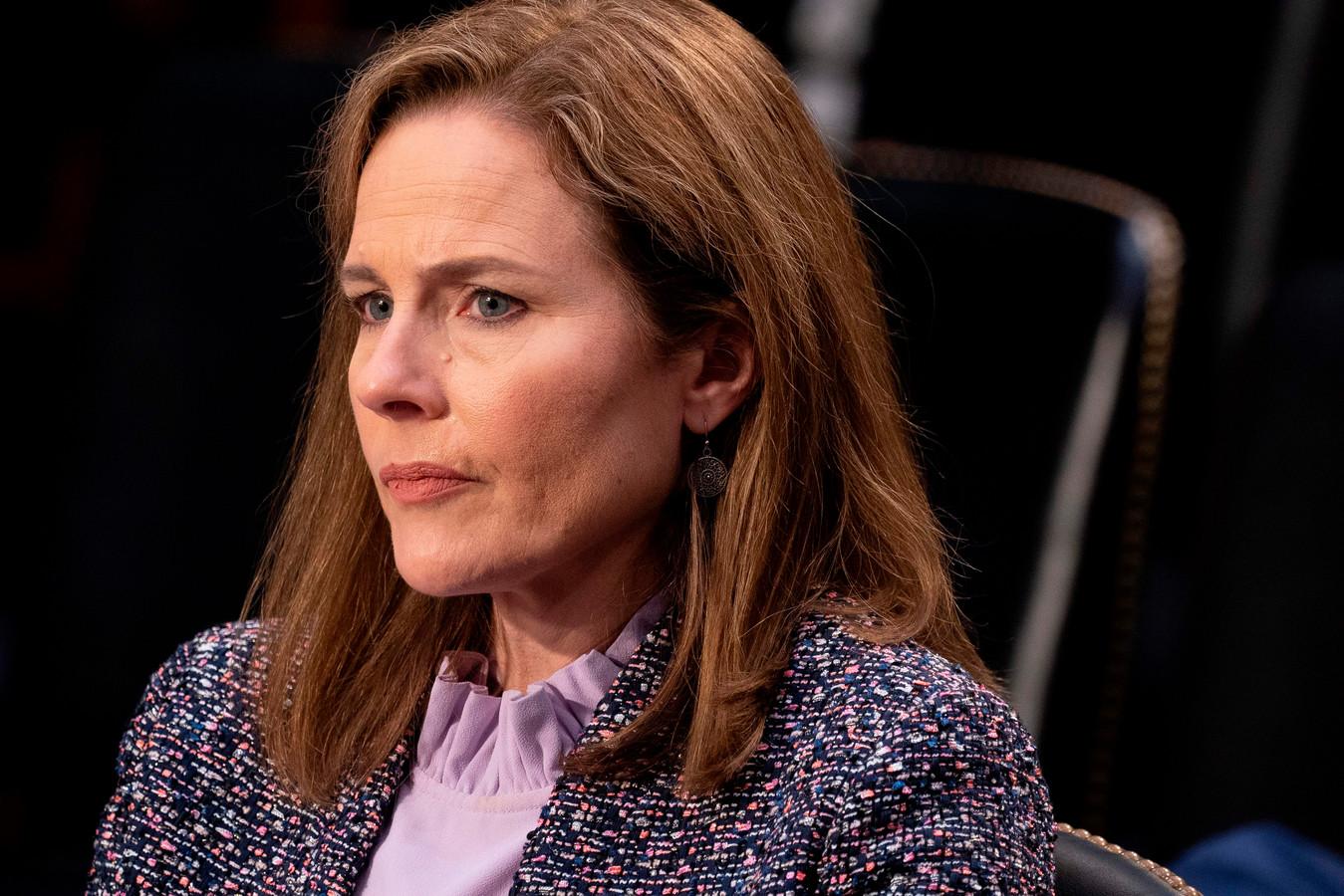 Kandidaat-opperrechter Amy Coney Barrett.