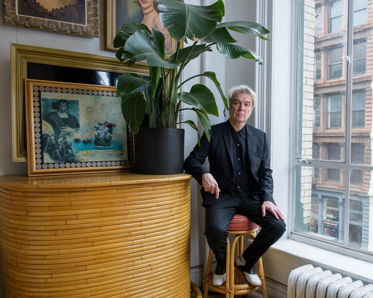 David Byrne. Beeld Drew Gurian/Invision/AP