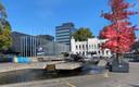 Het Paleis-Raadhuis moet straks het kloppend hart van het toekomstige Stadsforum zijn.