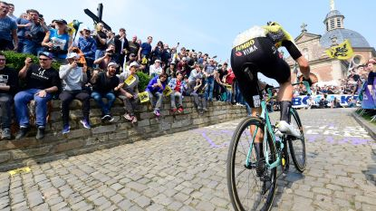 BK wielrennen neemt Muur van Geraardsbergen op in parcours