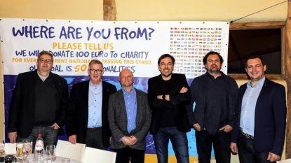 5.000 euro voor Mobile School dankzij Jenever-challenge Rotary Club
